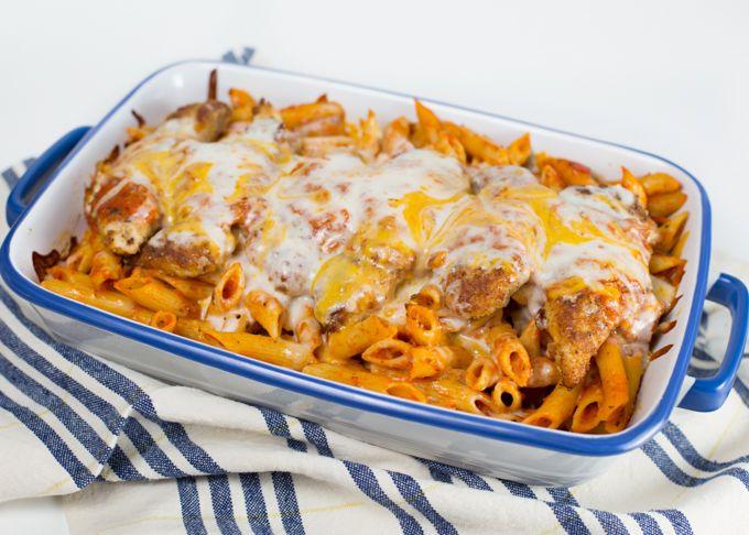 Chicken Parmesan w-Penne-4