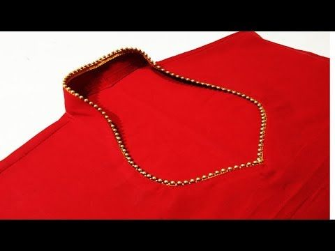 Latest halter neck design cutting and stitching for Kurti/ Suit / Blouse...