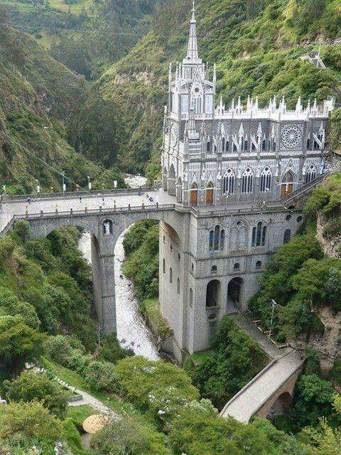 Las Lajas Cathedral Columbia #Castelli | #LuxuryEstate