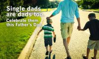 Single dads are dads too. A Father's Day poem to the best single dad in the world.