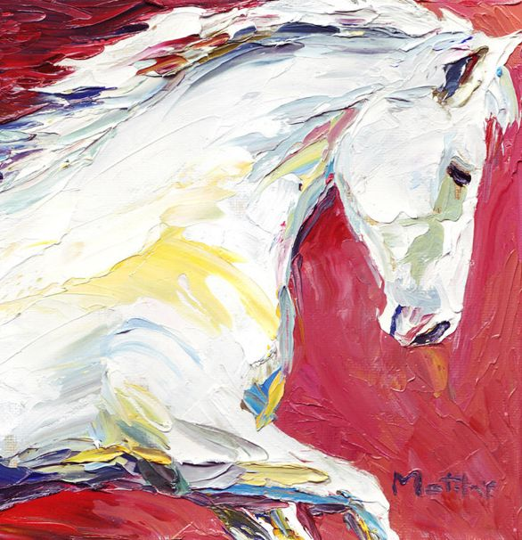 DIVINE SPIRIT, oil on canvas by Matthys Moss