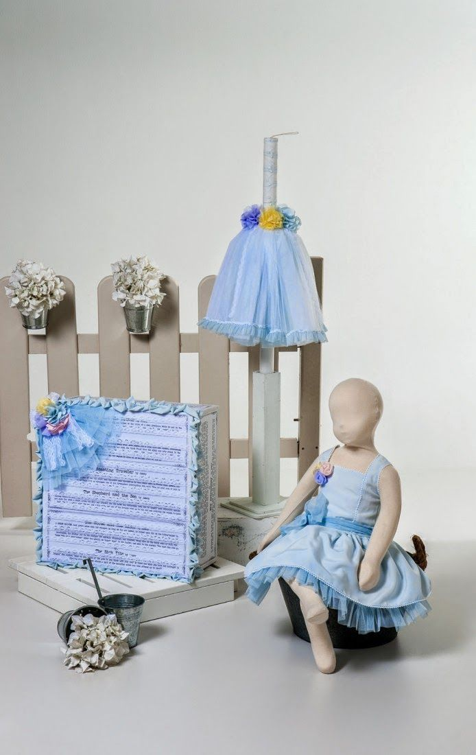 Gorgeous baptism set for girls