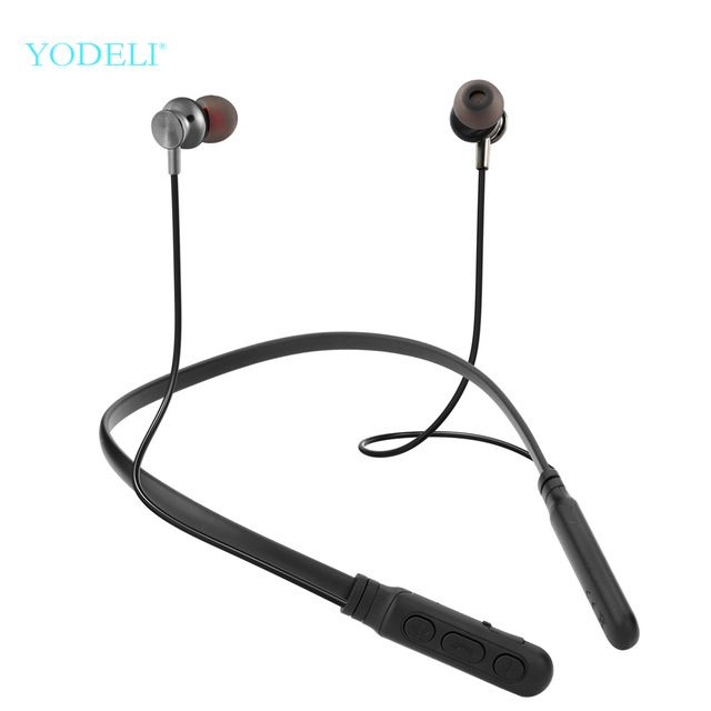 Yodeli Y06 Bluetooth Earphone Wireless Headphones Sports Earbud Neckband Stereo Bluetooth Headset With Mic For Xiaomi All Phone Review Wireless Earphones Bluetooth Earphones Wireless Headphones