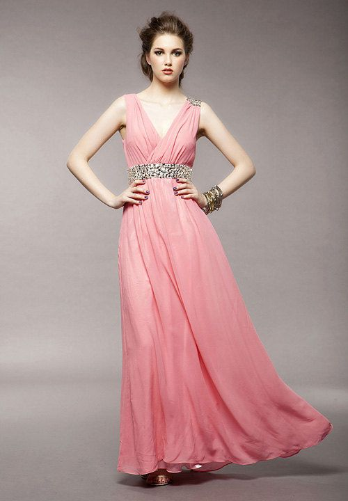 17 Best ideas about Pink Chiffon Dress on Pinterest | Chiffon ...
