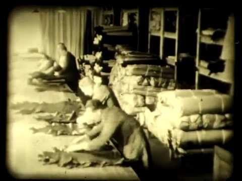 Två filmer om A.F. Carlsson som var Sveriges första skofabrik. Den startade 1873 i Vänersborg och upphörde 1969.