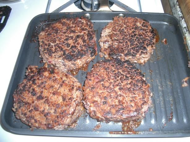 Houston s Restaurant Copycat Veggie Burgers from Food.com:     Had a veggie burger at Houlahan's the other day and a friend told me this one is WAY better. We will see!! I love the numbers! calories 281.4 total fat 3.8