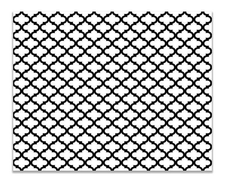 Quatrefoil Pattern Small Duvet Cover