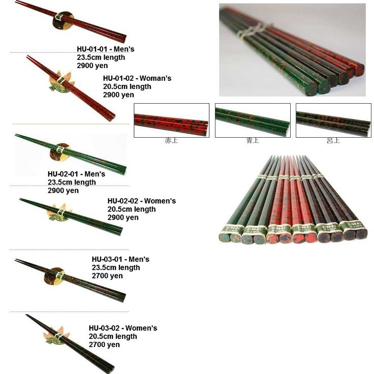 Japanese traditional chopsticks and sets