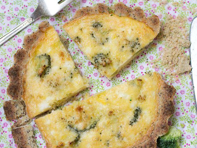 dishmaps tofu quiche with broccoli recipes dishmaps tofu quiche ...