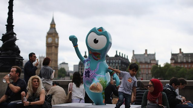 Wenlock, the official 2012 Olympic mascot