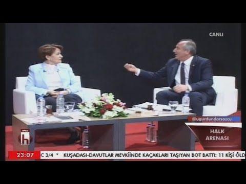 Halk Arenası 24.032017/ M.Akşener, M.İnce