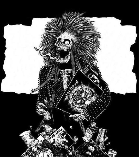 29 best Metal & Punk Art images on Pinterest | Punk art ...