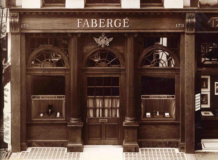 Fabergé sklad, 173 New Bond Street, 1910