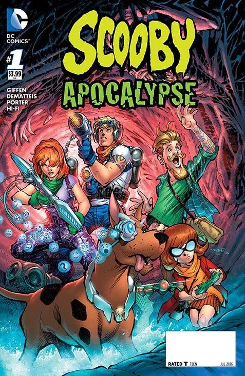 Scooby Apocalypse Comic Book