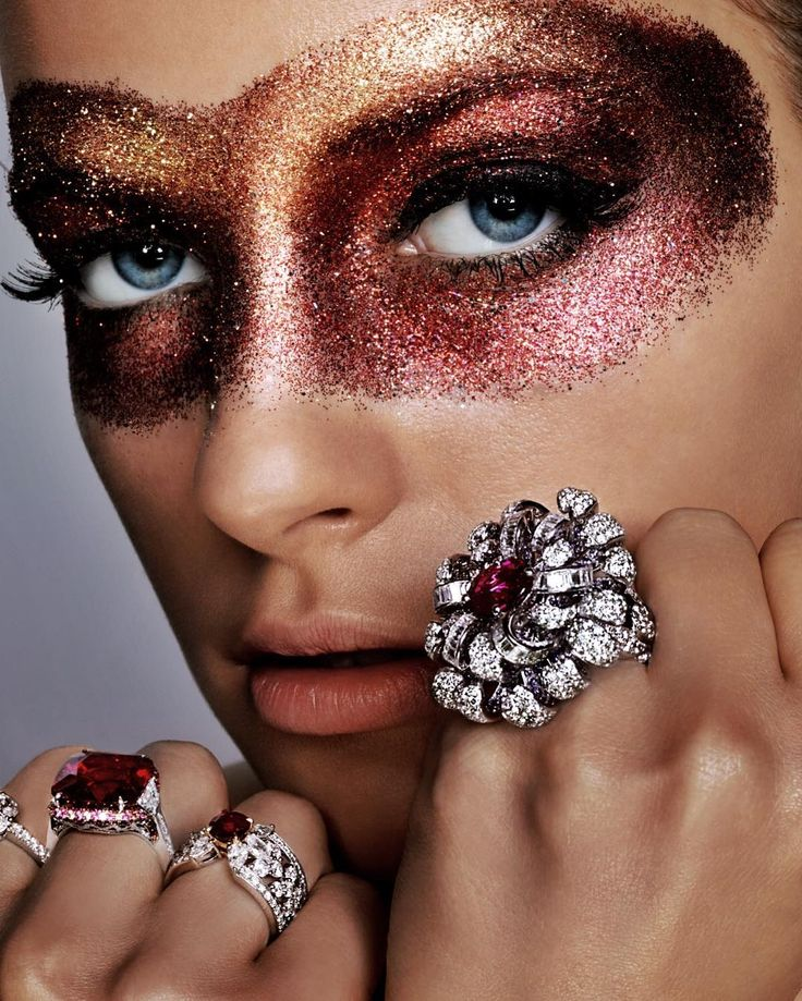 Beautiful diamonds by Troy Wise for Harpers Bazaar USA