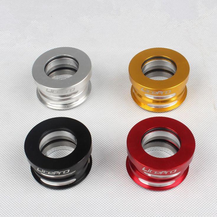 Litepro CNC en aluminium casque de vélo pliable 44mm pour