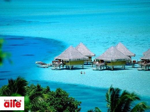 Bora Bora Adaları  Aktivitelere katılmak ve eğlenmek isteyenler için Bora Bora Adaları en uygun balayı tercihi.