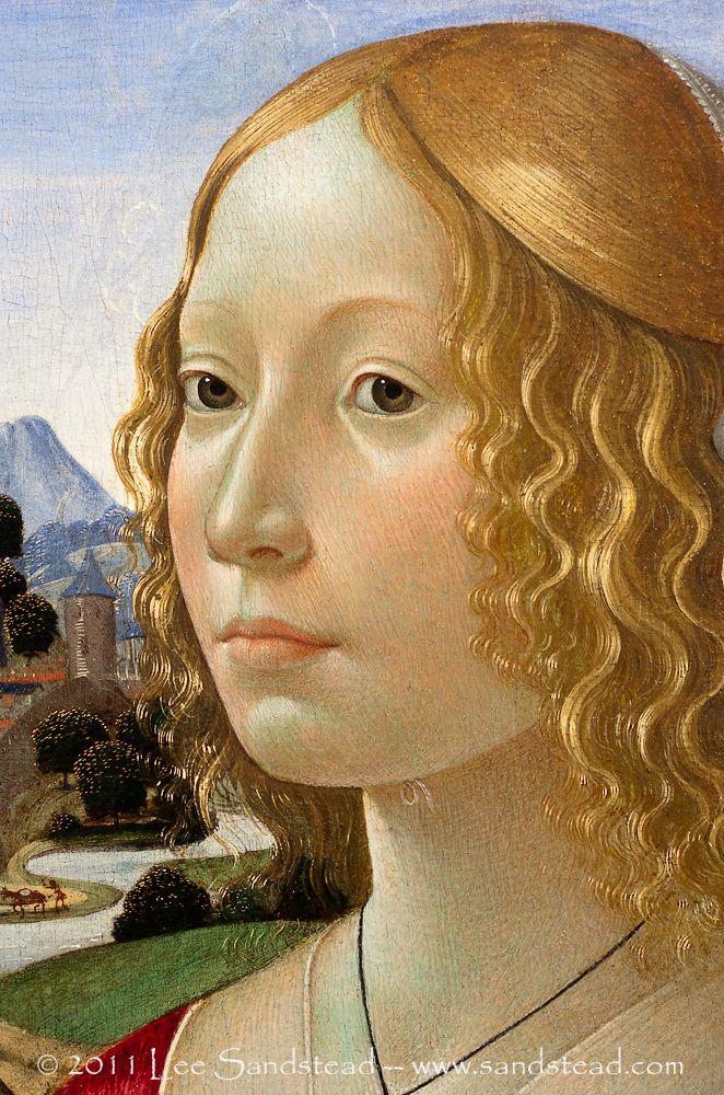 domenico ghirlandaio 1449-1494 | Domenico Ghirlandaio (Italian, 1449–1494), Portrait of a Lady (1490 ...
