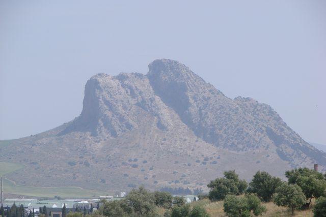 Serra do Torqal à distância