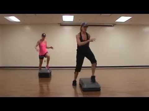 Vertical Step Aerobics Class Youtube Step Aerobics Aerobics