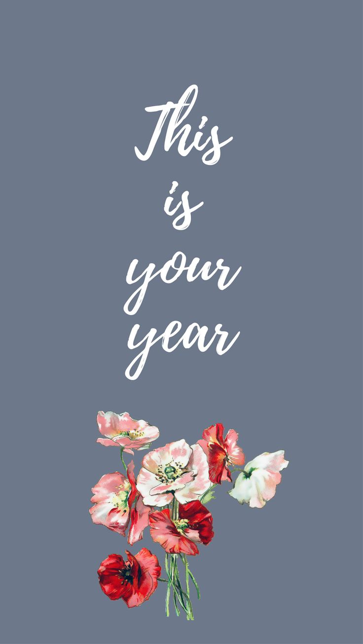 Happy 2018 iPhone Wallpaper Collection                      – Blossomcases