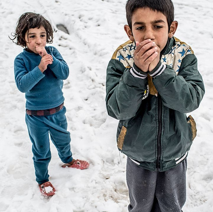 Bekaa Valley, Lebanon, where freezing temperatures are only part of the problem for Syrian refugees.
