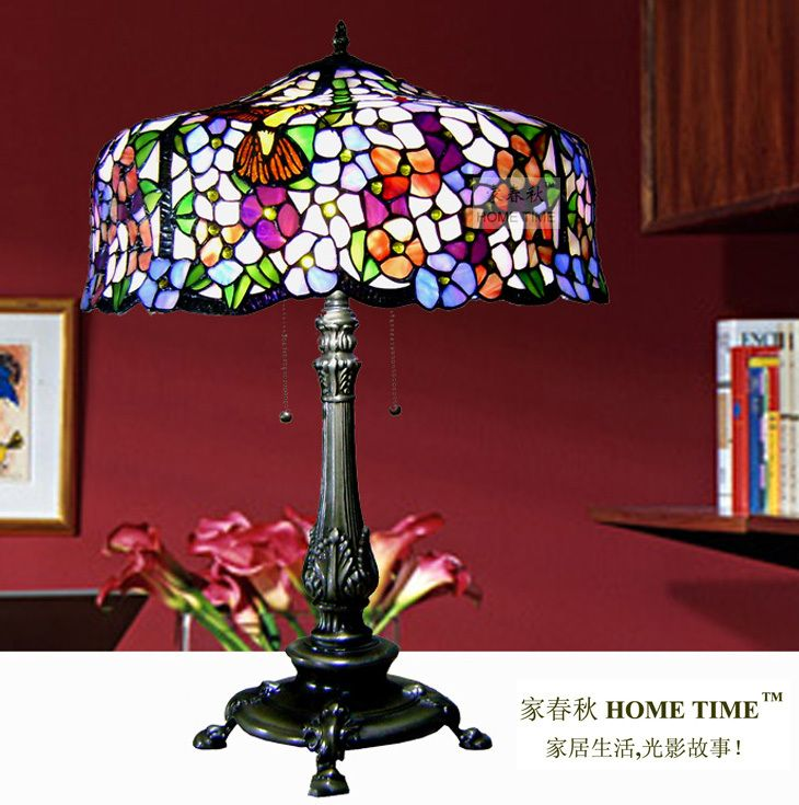 Aliexpress.com : Buy Hot Sale Tiffany Table Lamp Luxury Fashion Rustic Living  Room Lamps