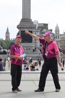 Olympic Spirit, Trafalgar Square, London