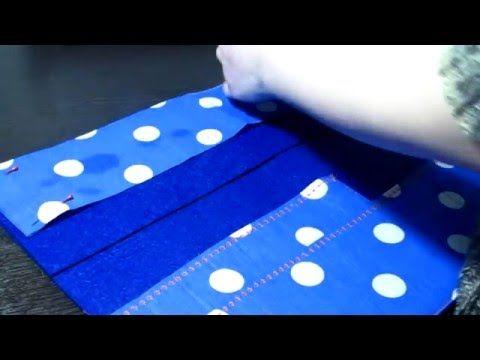 Шьём органайзер для мелочей - YouTube