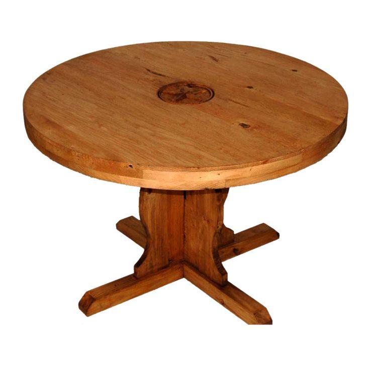 die besten 25+ rustic round dining table ideen nur auf pinterest, Esstisch ideennn