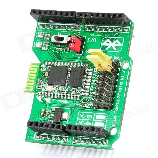 Bluetooth Shield V1.2 Expansion Board for Arduino (Works with Official Arduino…