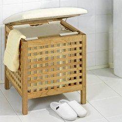 les 11 meilleures images propos de panier linge sur pinterest taupe toiles et panier linge. Black Bedroom Furniture Sets. Home Design Ideas