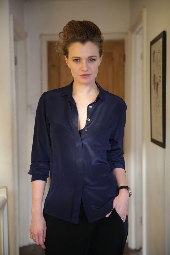 Jaimie Newton Silk Shirt. Jaimie.co.nz Photo Karl Pierard.