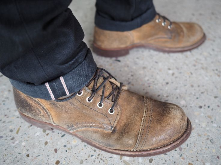 Red Wing Shoes 8113D Iron Ranger Hawthorne Muleskinner