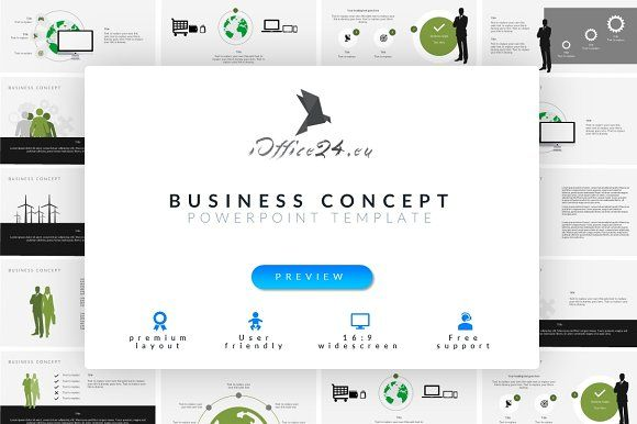 Business concept | PowerPoint by ioffice24 on @creativemarket