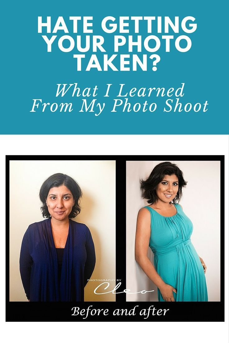 If you're like me and hate having your photo taken, read about my experience!