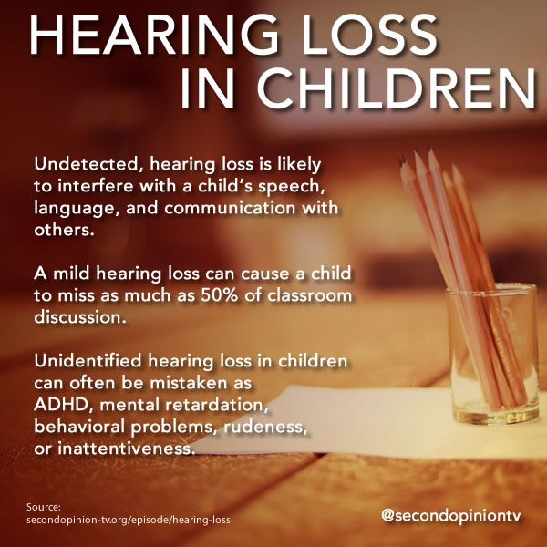 Infographic on Hearing Loss --designed by Cindy George for @secondopiniontv and WXXI Public Broadcasting