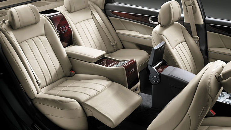 the equus features reclining back seats. Black Bedroom Furniture Sets. Home Design Ideas