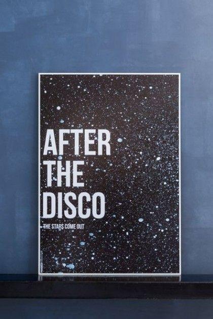 After The Disco 70 x 100cm Art Print (Unframed)