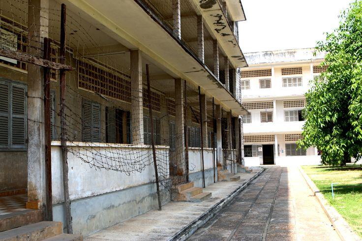 Tuol Sleng Genocide Museum, Phnom Penh. #TuolSleng #S21