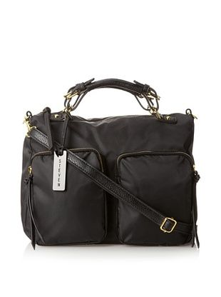 38% OFF STEVEN by Steven Madden Women's Nylon Satchel, Black