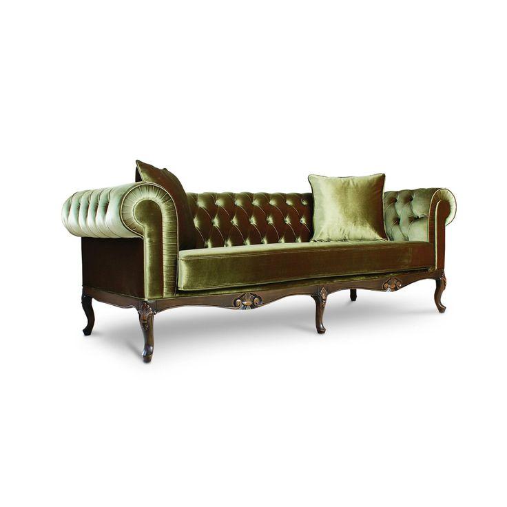 Velvet Chesterfield Sofa (Discount Price) by LebertaLondon on Etsy https://www.etsy.com/listing/250747020/velvet-chesterfield-sofa-discount-price