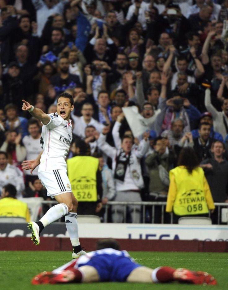 ..._14. The mexican Javier Hernández Chicharito - Real Madrid vs Atlético de Madrid. 22/04/2015