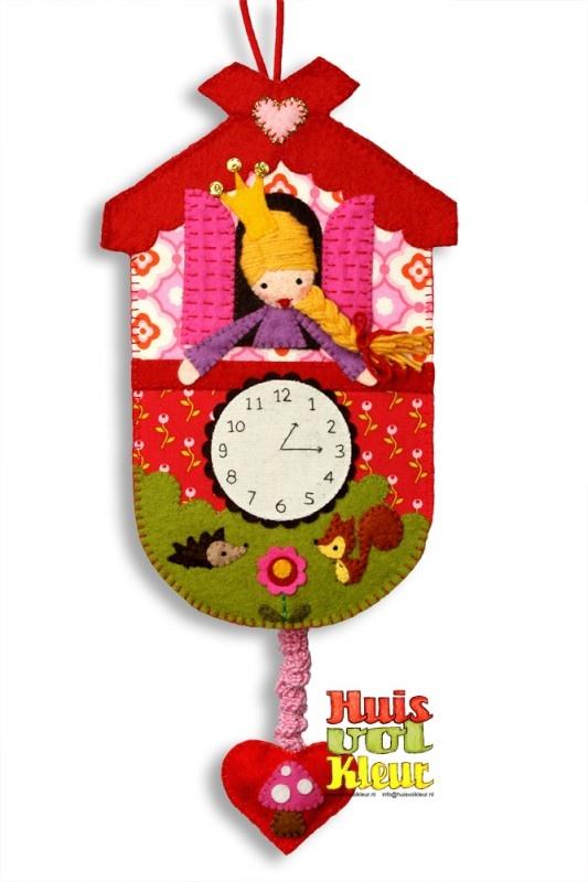 Muziekdoos klokje Prinses