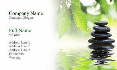 aromatherapy business cards - Google Search