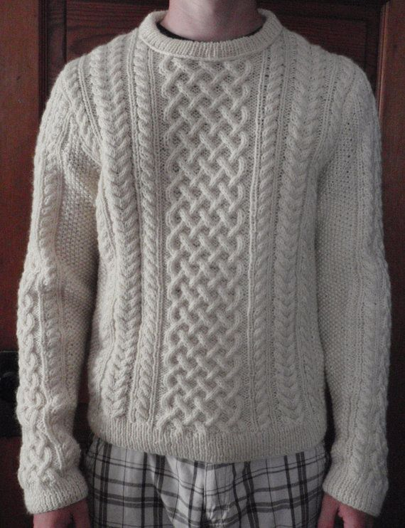 62 best images about aran sweaters on pinterest free for Aran crafts fisherman sweater