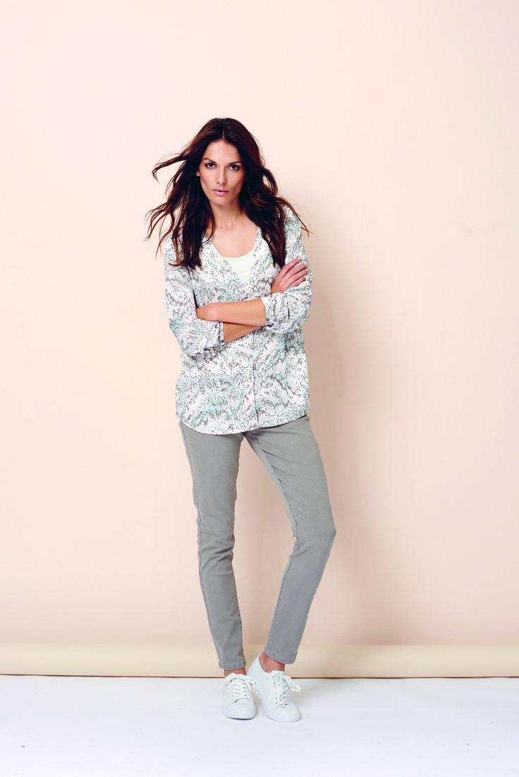 soyaconcept - shirt - blouse - t-shirt - alloverprint - pants - jeans