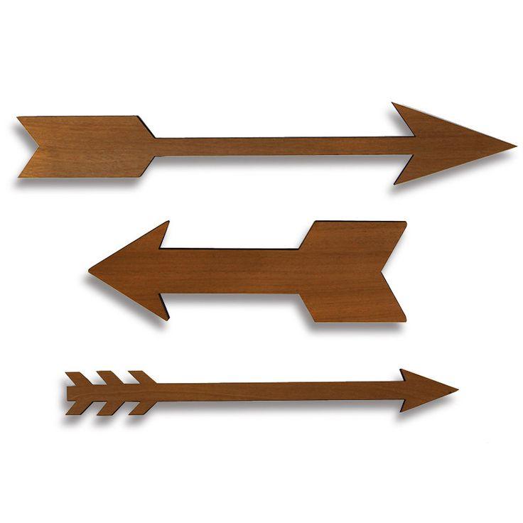 Pinterest Wood Arrow Decor