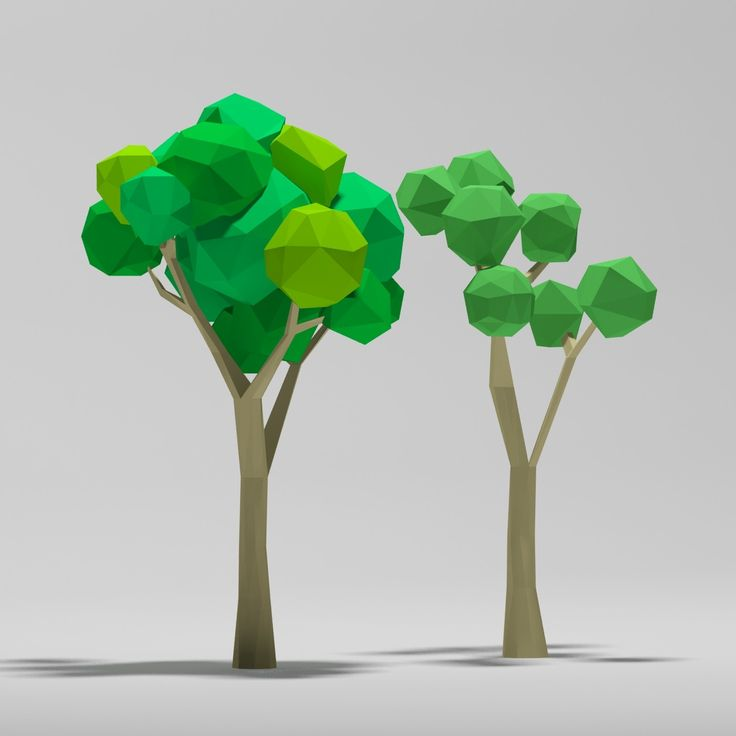 max cartoon trees