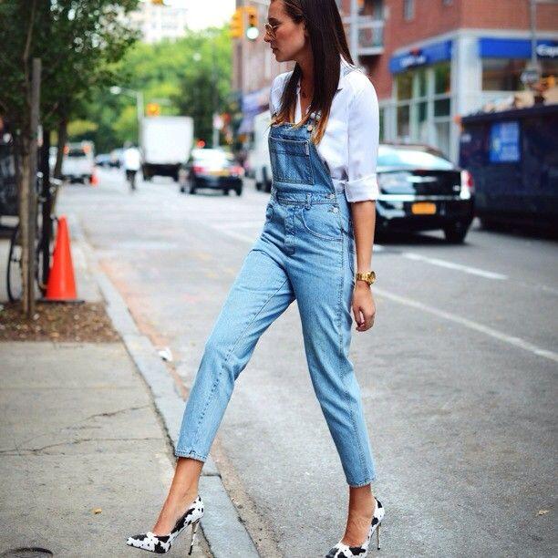 15 best Jean Jumpsuits images on Pinterest